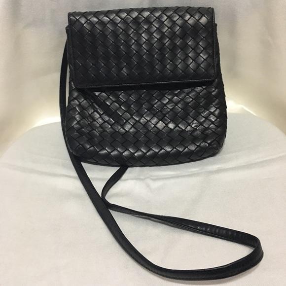 7e6a95db004b Bottega Veneta Handbags - Vintage Bottega Veneta Intrecciato Crossbody Bag